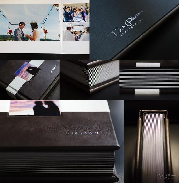 wedding albums by dan phan photography